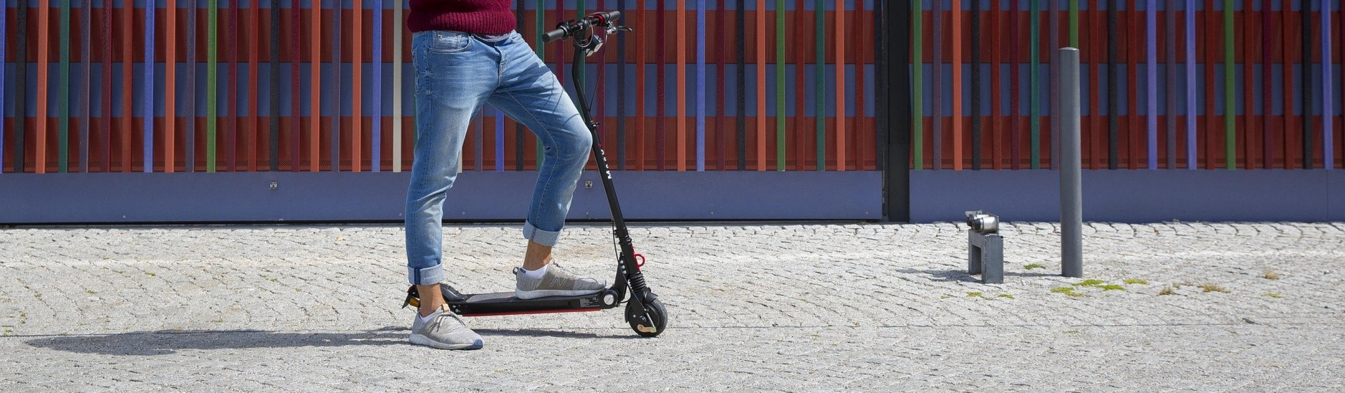 Who can ride an electric scooter and where?