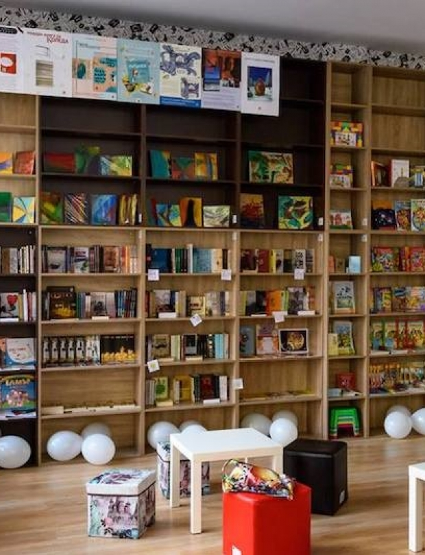 An extraordinary bookstore in which there is hope