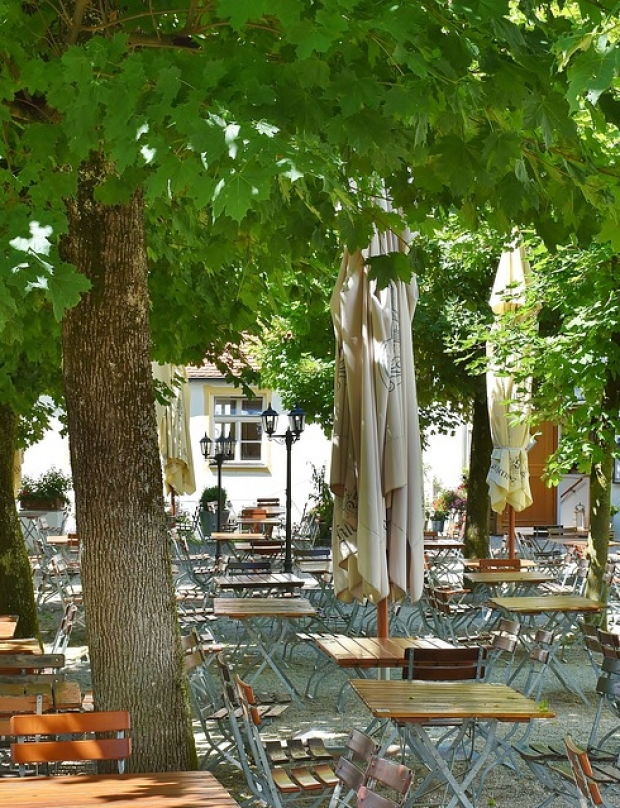 Places with summer gardens in Plovdiv