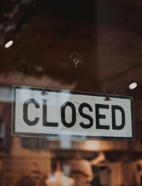 Restaurants that didn't open after the pandemic