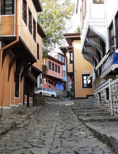 The most beautiful Plovdiv streets